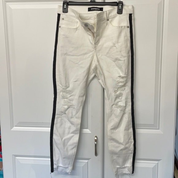 White Express Jeans!